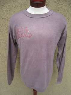 Cashmere Sweater 7 For All Mankind Men's sz L NEW Emerald Rice J Purple Crew