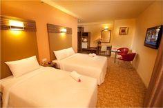 Hotel Sentral Kuantan - Deluxe Triple Room | Follow us: https://www.facebook.com/HotelSentralKuantan