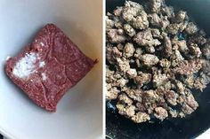 I Can't Believe How Well This One-Ingredient Trick Works for Cooking Ground Beef Cooking Light, Easy Cooking, Cooking Tips, Parmesan Potato Stacks Recipe, Cooking With Ground Beef, Before I Forget, How To Cook Beef, Carne Picada, Food Obsession