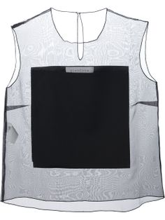 Designer Clothes, Shoes & Bags for Women Sheer Tank Top, Sheer Shirt, Sheer Tops, Transparent Shirt, Black Sleeveless Top, Sleeveless Shirt, Black Tank Tops, Blouse Designs, Women Wear