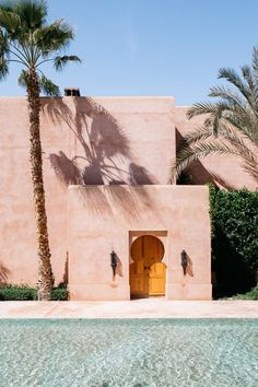 Amanjena, Marrakech — One Thousand and One Nights — Renée Kemps Places To Travel, Places To Go, Travel Destinations, Morocco Travel, Marrakech Travel, Marrakech Morocco, Travel Inspiration, Color Inspiration, Travel Photography