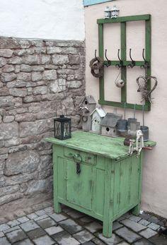 Gartendeko Shabby shabby gartendeko free puppenwagen alt vintage shabby
