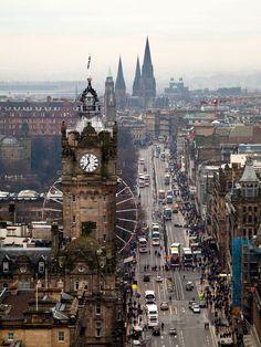 Edinburgh in Scotland.