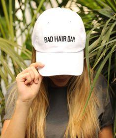 82525ad3a8b5e Friday + saturday  bad hair day hat