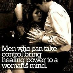 You love me taking control...