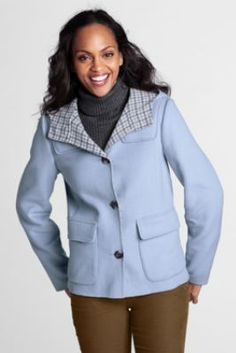Women's Double Face Jacket from Lands' End
