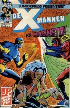 Strips - X-Men - X-mannen VS. MAGNETO!