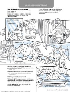 free noah 39 s ark coloring pages