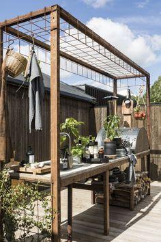 Outdoor Sinks, Outdoor Fire, Outdoor Rooms, Outdoor Gardens, Outdoor Living, Outdoor Decor, Backyard Patio, Backyard Landscaping, Patio Design
