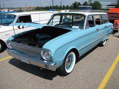 1962 Ford Falcon Wagon - Love the wagons as much as the sedans