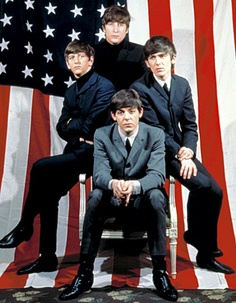 The Beatles  - american flag