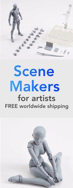 Scene Makers for Artists (body kun)