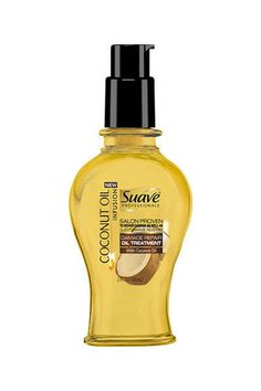 New Drugstore Beauty Products You Need to Know About Suave Professionals Coconut Oil Infusion Oil Tr Coconut Oil Beauty, Pure Coconut Oil, Hair Removal, Beauty Products You Need, Hair Products, Body Products, Fly Away Hair, Oil Treatment For Hair, Hair Treatments