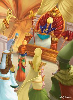 god Ra and the Egyptian gods