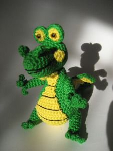 Amigurumi Dragon - FREE Crochet Pattern / Tutorial