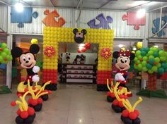 Mikey Mouse club house