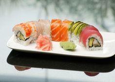 #rainbowroll #sushi_zushi