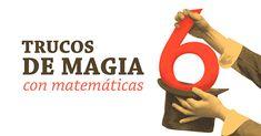 ¿Sabes que las matemáticas también tienen algo de magia? Sorprende a tus amigos y conocidos con estos originales trucos de matemáticas. Magic Tricks For Kids, Numeracy, Kindergarten Math, Algebra, Back To School, Letters, Science, Teaching, Maths