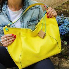 #Yellow like the sun! ☀️ #Gabs Larka Bag  soon  riccishop.it  #newcollection #gabsfrancogabrielli #bag #bags #borsa #handbag #colorful #cool #beautiful #glamour #woman #style #street #girlpower #blogger #topHandle #lovely #shoponline #riccishop #shopping #loveshopping #bestshop #italy #fashionaddict #fashiontrends #instafashion #instagood