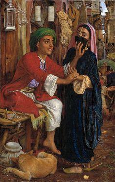 William Holman Hunt - The Lantern Maker's Courtship, A Street Scene in Cairo - Google Art Project - William Holman Hunt - Wikipedia, the free encyclopedia