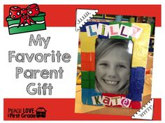 Fun and Easy Parent gift idea!