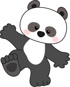 free panda bear clip art image playful baby panda bear fro rh pinterest com panda bear clip art images baby panda bear clip art