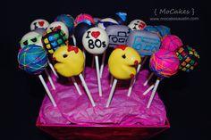 I love 80s cake pops