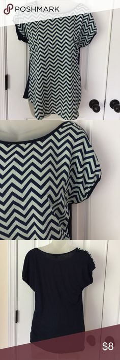 Cute Top Espresso Top Size S. Preowned in good condition. Comes from smoke free and clean home. Remember to save when you bundle. Thanks. espresso Tops