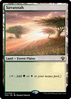x1 Moderate Play English Magic Mtg M:tG Trees Beta Plains