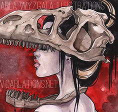 Dinosaur Bone Art Print