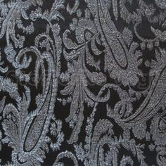 Lurex Jacquard schwarz-silber