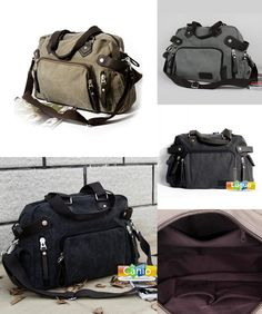 New canvas shoulder bag Japanese and Korean version of the trend of leisure  men bag retro Messenger bag portable travel bag-in Crossbody Bags from  Luggage ... 8db3837c54f35