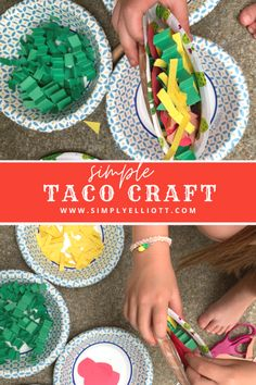 Toddler Crafts, Preschool Activities, Preschool Plans, Crafts For Kids, Arts And Crafts, Paper Crafts, Taco Crafts, Mexico Crafts, Dragons Love Tacos