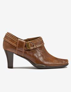 Dress Booties in Brown