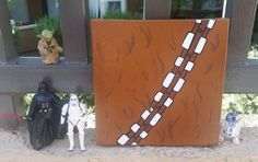 Hey, I found this really awesome Etsy listing at https://www.etsy.com/listing/242920426/chewbacca-star-wars-canvas-painting