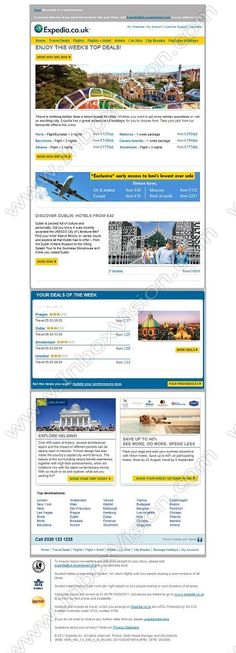 Company:    Expedia.co.uk   Subject:    Top deals from GBP118 | bmi's lowest ever sale               INBOXVISION is a global database and email gallery of 1.5 million B2C and B2B promotional emails and newsletter templates, providing email design ideas and email marketing intelligence www.inboxvision.com/blog  #EmailMarketing #DigitalMarketing #EmailDesign #EmailTemplate #InboxVision  #SocialMedia #EmailNewsletters