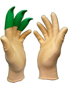 Got a pair for my dad and a pair for my husband.  My husband is a gardener and glove junkie, and he loves this invention. The only problem is that it didn't come with a stapler to attach to his forehead. He already lost the claw glove.  So I will be buying another pair forthwith because they are too cool to go without!