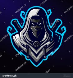 ( ROYALTY FREE ) Assassin / Ninja Mascot Logo Template royalty free free streamer twitch team esports ninja mascot logo mascot logo graphic gaming gamer game esport e-sport e sports design character assassin Team Logo Design, Logo Desing, Game Design, Logo D'art, Logo Branding, Foto Logo, Logo Free, Ninja Logo, Warrior Logo