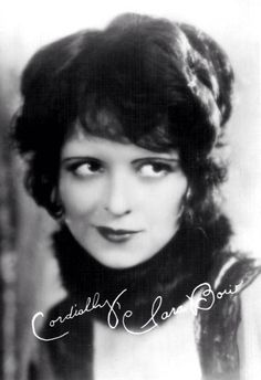 timeless, I see a bit of Siouxsie Sioux in the look - Clara Bow