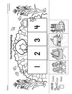 Free Thanksgiving Pattern Worksheet   Templates   Pinterest ...