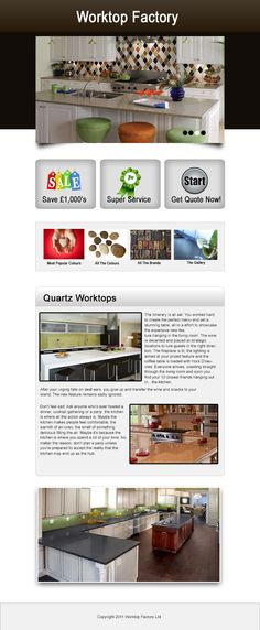 When you buy from The Worktop Factory you are buying at the most competitive prices available in the UK. We offer fantastic prices without compromising on our quality. Why go for man-made materials when you have the real thing at such fantastic prices! visit our site http://worktopfactory.co.uk/ for more information on this Quartz Worktops