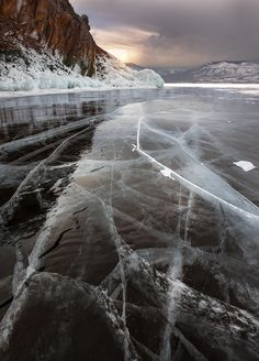 Lake Baikal in Winter by Alexander Atoyan Nature Aesthetic, Travel Aesthetic, Beautiful World, Beautiful Places, Landscape Photography, Nature Photography, Christmas Phone Wallpaper, Wallpaper Aesthetic, Winter Photos