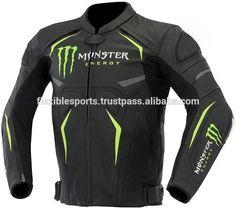 Motorcycle Racing Biker Durable Cowhide LEATHER JACKET