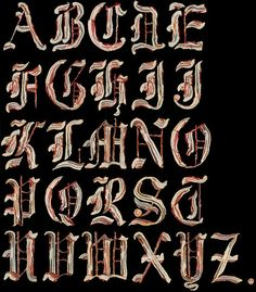 Bacon Alphabet - food styling by Sarah Guido ~ Taste: The Food Photography of Henry Hargreaves Photo via Design Milk