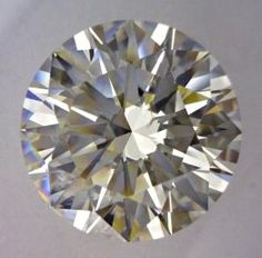 NEW INVENTORY!! 3.02-Carat Round Cut Diamond    This Excellent-cut K-color, and SI2-clarity diamond comes accompanied by a diamond grading report from GIA  $21879.90