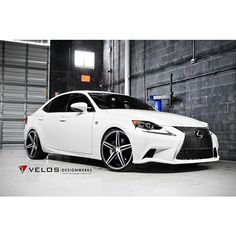 2014 Lexus IS350 on Vossen CV5 - View more photos at http://www.vossenwheels.com/CarGallery/Lexus-IS-VVSCV5-997.aspx