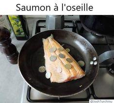 Voila la recette du saumon à l'oseille ^^