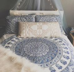 Imagem de bedroom, bed, and room