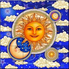 celestial sun and moon - Google Search
