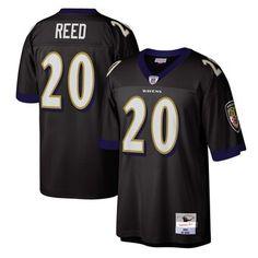 Ed Reed Baltimore Ravens Mitchell & Ness Legacy Replica Jersey - Black Joe Montana, Tennessee Titans, Running Back, Arizona Cardinals, Detroit Lions, Atlanta Falcons, New York Jets, Washington Redskins, New Orleans Saints